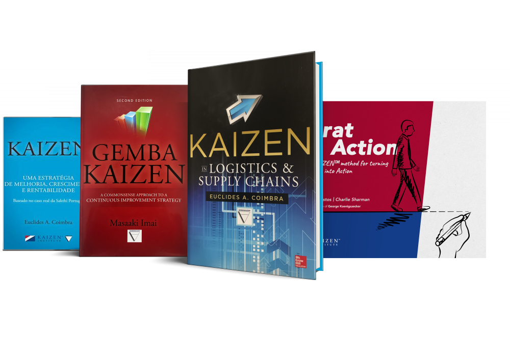 Books that reveal KAIZEN™'s potential in organisational transformation and growth