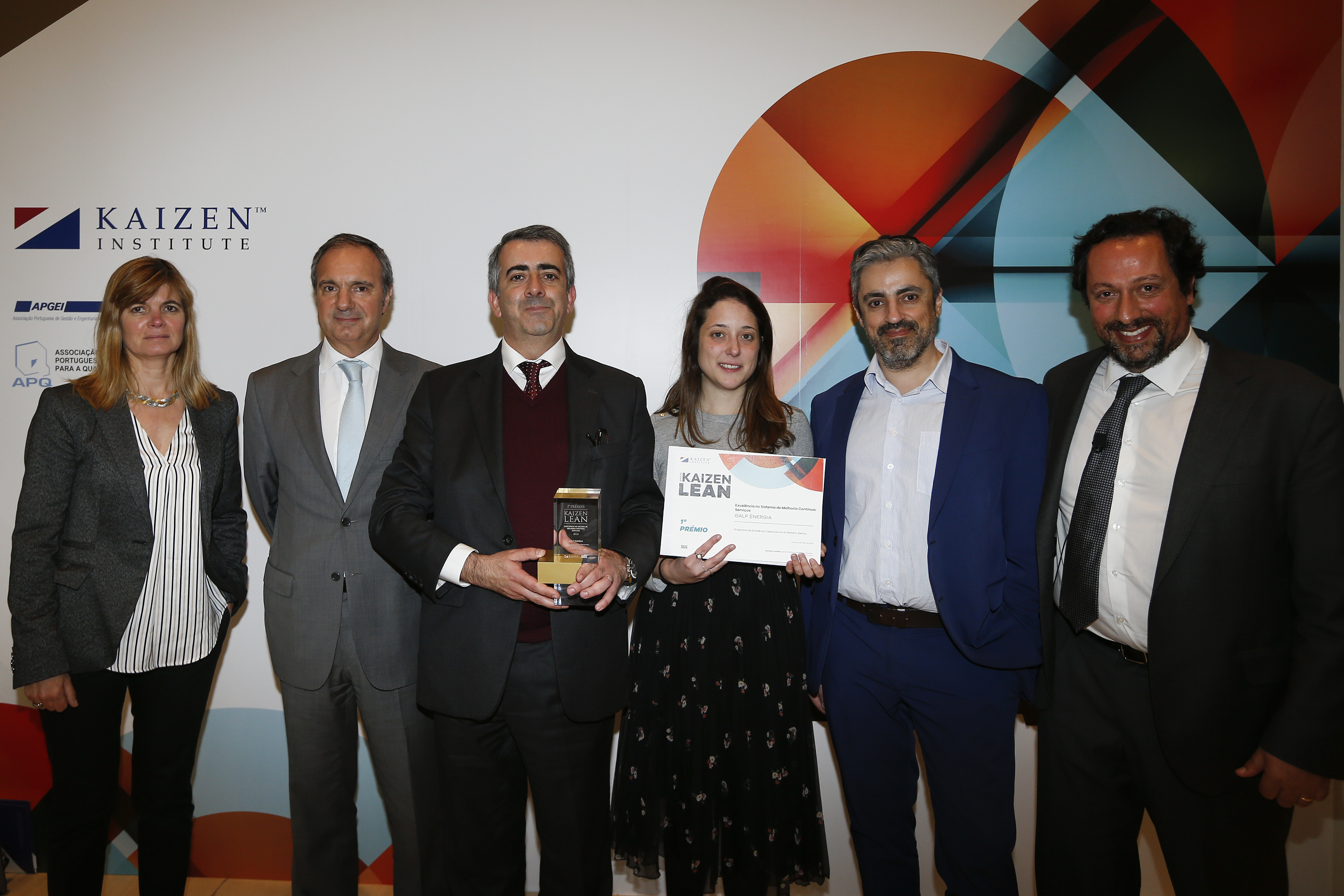 Kaizen Institute Portugal awarded Galp with the Premio KAIZEN™ Lean Portugal 2018, Category: Excellence in Continuous Improvement System